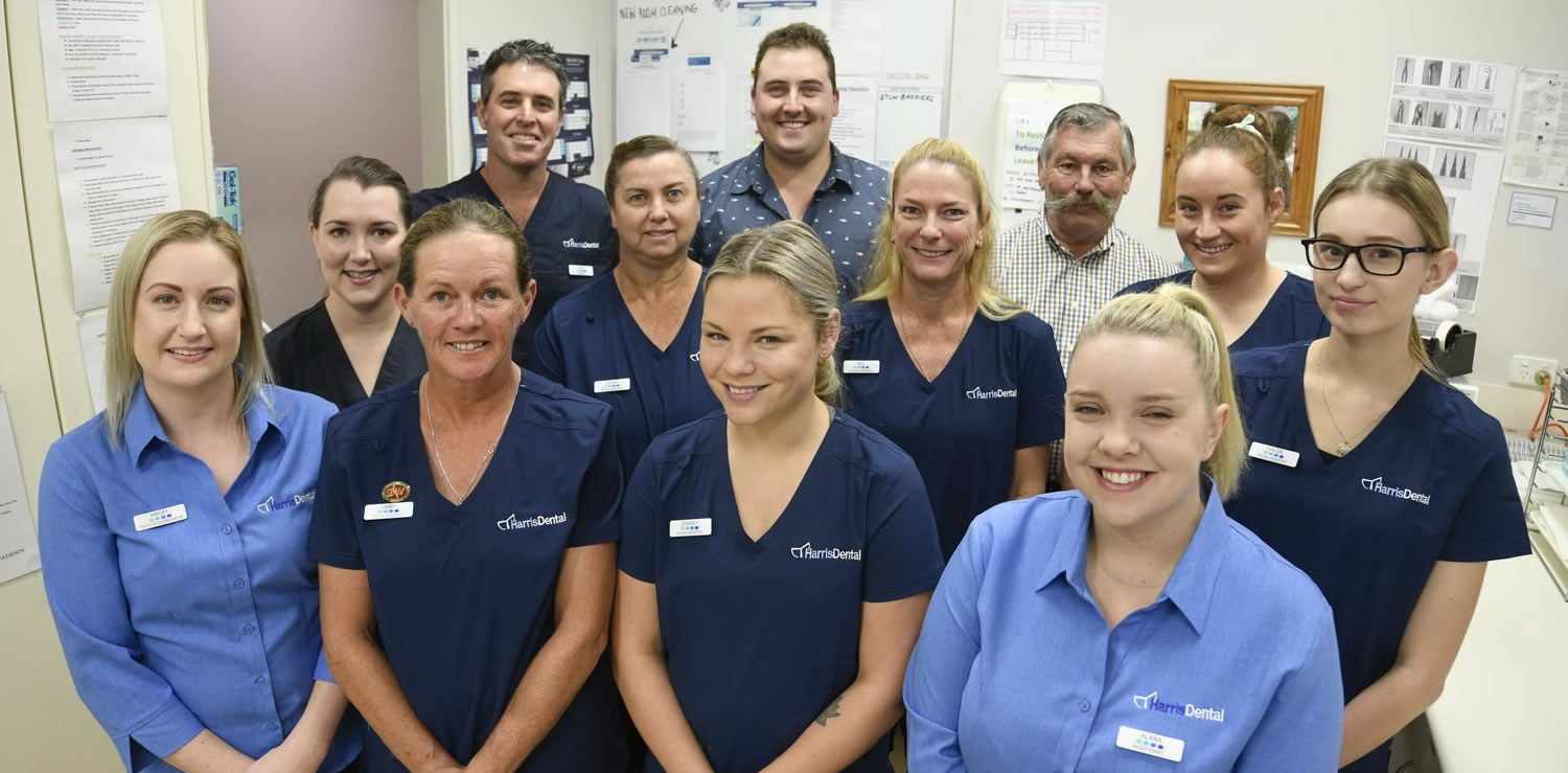 The Harris Dental Team