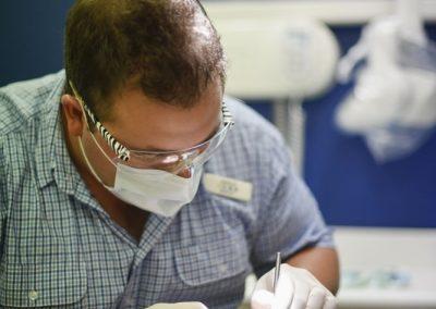 Dr Angus Dinnison at Work - Harris Dental Esperance