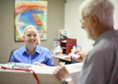 Friendly Reception - Harris Dental Esperance
