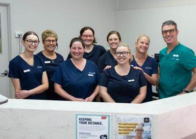 Harris Dental Reception