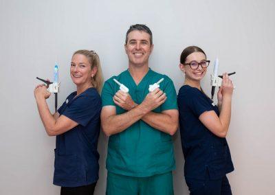 Harris Dental Mel, Chris & Chloe