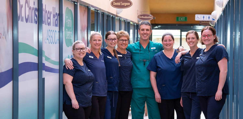 The Harris Dental Team